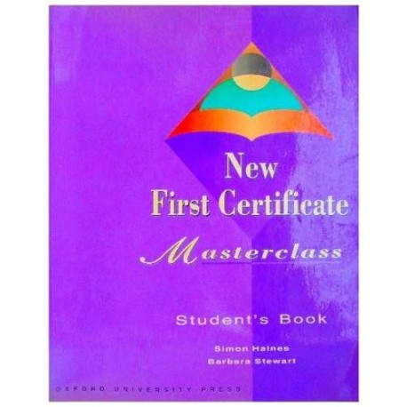 New First Certificate Masterclass Student's Book