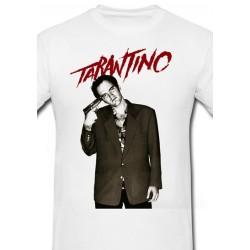 Póló Quentin Tarantino - Férfi M méret (Fehér)