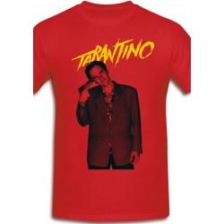 Póló Quentin Tarantino - Férfi XL méret (Piros)