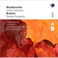 CD Mendelson: Violin Concerto - Brahms: Double Concerto