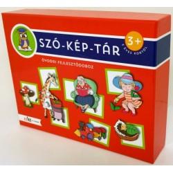 SZÓ-KÉP-TÁR óvodai fejlesztődoboz - 3 éves kortól