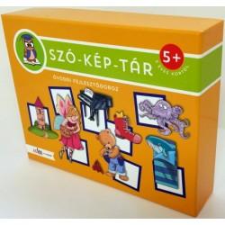 SZÓ-KÉP-TÁR óvodai fejlesztődoboz - 5 éves kortól