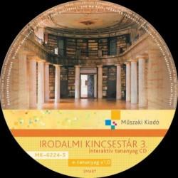 Irodalmi kincsestár 3. interaktív tananyag CD