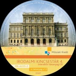 Irodalmi kincsestár 4. interaktív tananyag CD