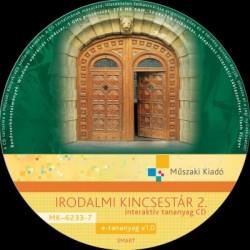 Irodalmi kincsestár 2. interaktív tananyag CD
