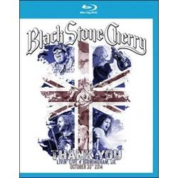 Blu-ray Black Stone Cherry: Thank You - Livin' Live Birmingham, UK October 30th 2014