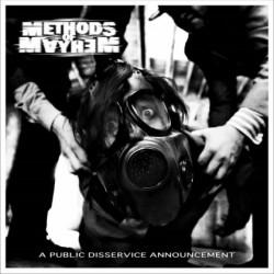 CD Methods Of Mayhem: A Public Disservice Announcement