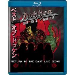 Blu-ray Dokken: Return to the East Live (2016)