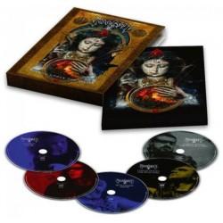 Blu-ray Moonspell: Lisboa Under The Spell (Blu-ray+DVD+3CD Digipak)