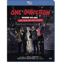 Blu-ray One Direction: Where We Are - Live From San Siro Stadium