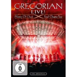 DVD Gregorian: Live! Masters Of Chant - Final Chapter Tour (DVD+CD Limited Edition)