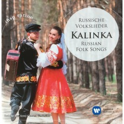 CD Red Star Army Chorus: Kalinka - Russian Folk Songs