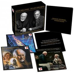 CD John Williams - Steven Spielberg: The Ultimate Collection (3CD+DVD Box Edition)
