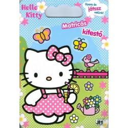 Hello Kitty - Matricás színező mappa