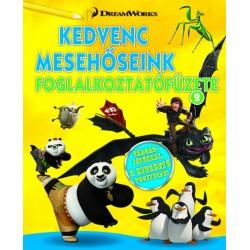 DreamWorks - Kedvenc mesehőseink foglalkoztatófüzete 2.