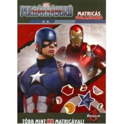 Amerika Kapitány Polgárháború - Matricás foglalkoztató
