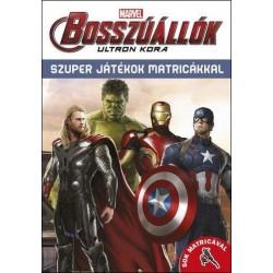 Bosszúállók Ultron kora - Szuper játékok matricákkal