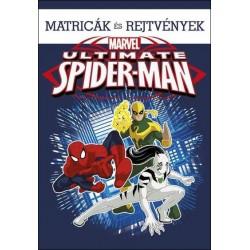 Pókember - Ultimate Spider-Man - Matricák és rejtvények