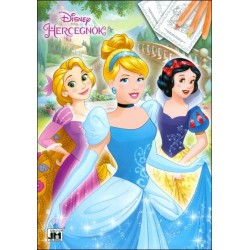 Disney Hercegnők kifestő