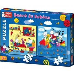 Bogyó és Babóca puzzle 3+