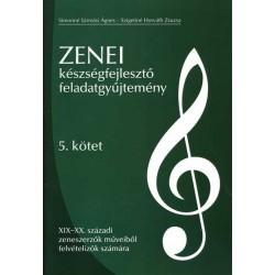 Zenei készségfejlesztő feladatgyűjtemény 5. kötet