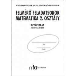 Felmérő feladatsorok matematika 2. osztály D változat