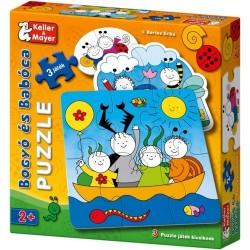 Bogyó és Babóca puzzle 2+
