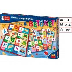 Játszva megismerjük a betűket