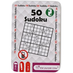 50 sudoku - foglalkoztató kártyák