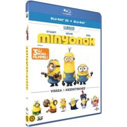 Blu-ray Minyonok (BD3D+BD)