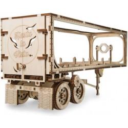 UGEARS Heavy Boy Kamion utánfutó mechanikus modell