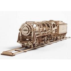 UGEARS Gőzmozdony mechanikus modell