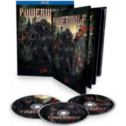 Blu-ray Powerwolf: The Metal mass - Live (Limited Mediabook 2Blu-ray+CD with 48 page booklet)
