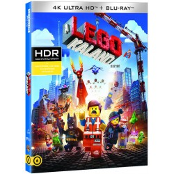 Blu-ray A LEGO kaland (4KUHD+BD)