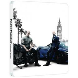 Blu-ray Halálos Iramban: Hobbs és Shaw (Limitált Steelbook 4KUHD+BD)