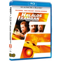 Blu-ray Halálos Iramban: Ötödik sebesség (4KUHD+BD)