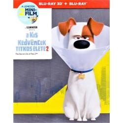 Blu-ray Kis kedvencek titkos élete 2. (Steelbook BD3D+BD)