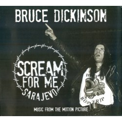 CD Bruce Dickinson: Scream For Me Sarajevo - Music From The Motion Picture (Digipak)
