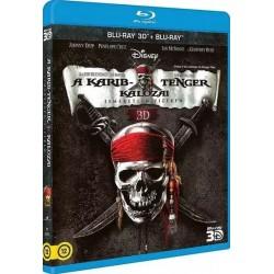 Blu-ray A Karib-tenger kalózai: Ismeretlen vizeken (BD3D+BD)