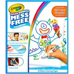 Color Wonder: maszatmentes kifestőlap utántöltő (30 lapos)