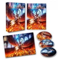 Blu-ray Hammerfall: live! Against the World (Digipak Blu-ray+DVD+CD)