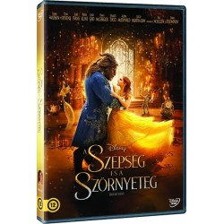 DVD A Szépség és a Szörnyeteg (élőszereplős)