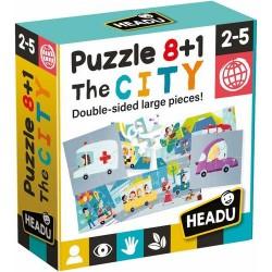 8+1 kétoldalas puzzle - Város