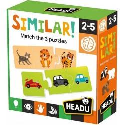 Logikai puzzle - Hasonlóságok