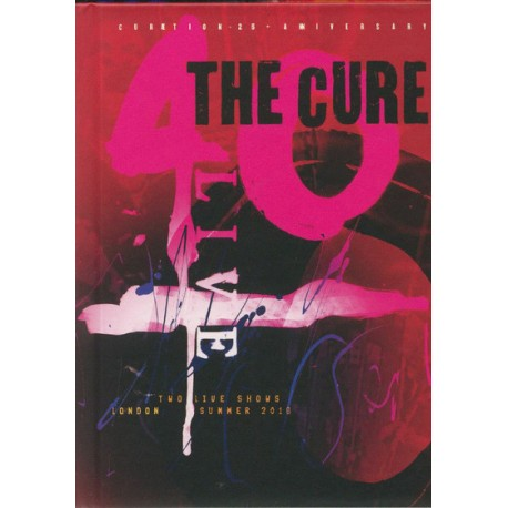 Blu-ray The Cure: 40 Live (Curation-25 + Anniversary) (Digibook 2 Blu-ray)