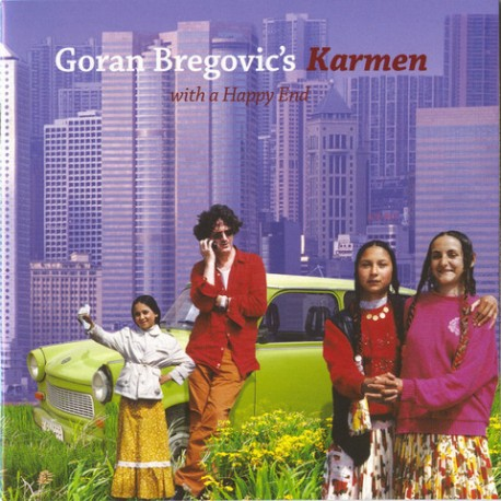 CD Goran Bregovic: Karmen (with a Happy End)