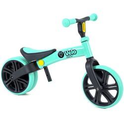 Y Velo Balance Bike Junior zöld futóbicikli
