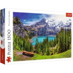 Oeschinen-tó, Svájc puzzle 1500 darabos