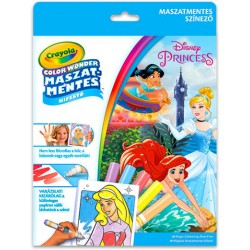 Color Wonder: Disney Hercegnők maszatmentes kifestő