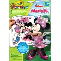 Minnie egér színező és foglalkoztató
